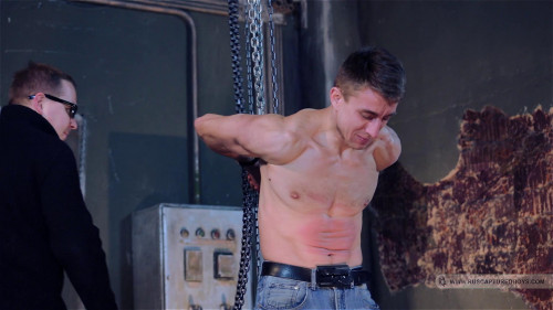 Gay BDSM Interrogation of Car Thief - Part I