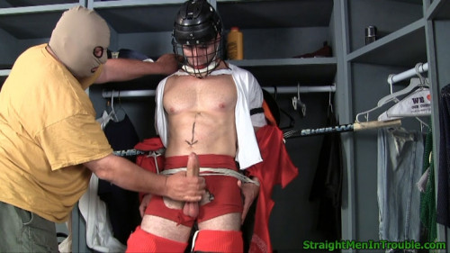 Gay BDSM Hockey Player Hazing - Part 2