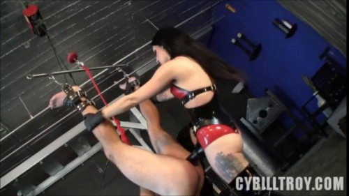 Femdom and Strapon Chastity Cock Whore