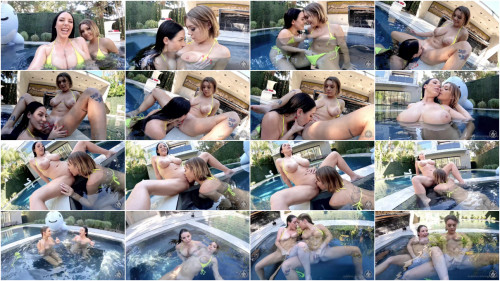 Lesbians Getting wet with Angela White & Gabbie Carter