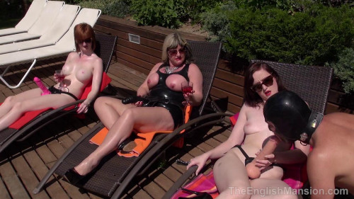 Femdom and Strapon Triple Hot Strapon