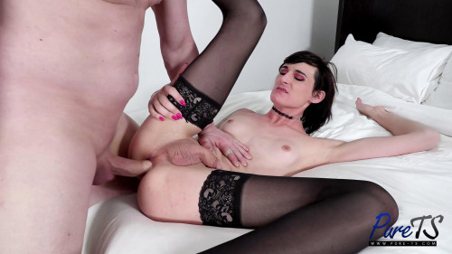 Waiting For Her Man To Fuck Her Ass