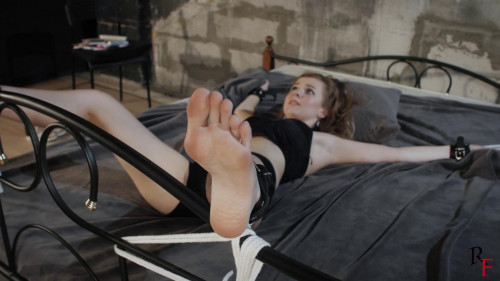 BDSM HD Bdsm Sex Videos Merciless tickling of young and sweet Alevtina