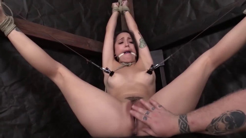 BDSM Super bondage, spanking and torture for very sexy bitch part 3