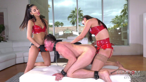 Femdom and Strapon Alina Lopez and Gianna Dior - Hole Abusers