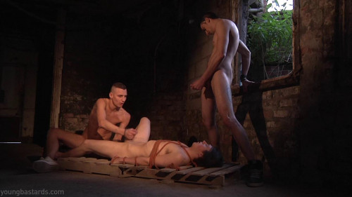 Gay BDSM Bound and Boned. The torture of desire Reece Bentley, Timmy Treasure