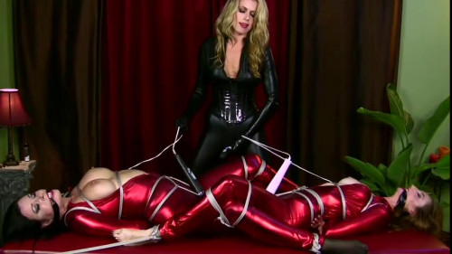 bdsm Kendra and Anastasia Tied Together and Dominated by Randy