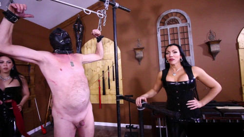 Femdom and Strapon Goddess Cheyenne, Lydia Supremacy - Breaking Slave