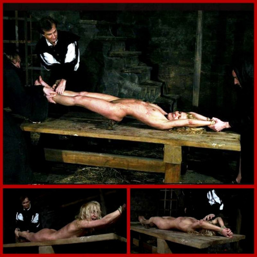 bdsm Sorceress Romina Endures Table Torment - BrutalDungeon