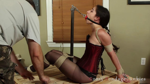BDSM Stasha vs. The Gag Leash