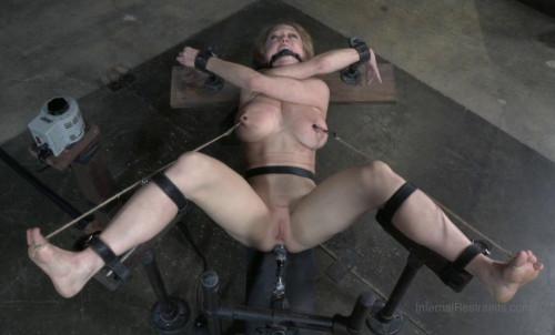 BDSM Amazing Destruction For Big Tits Milf