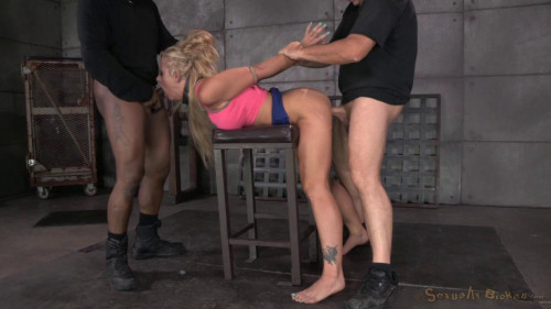 bdsm Sexy MILF Holly Heart caged