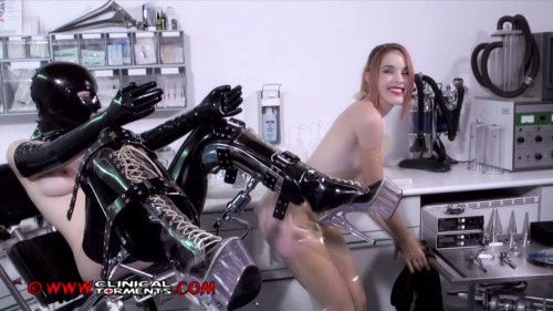 bdsm Anal Training Nurse Amarna Miller and Chiara Diletto Part Two