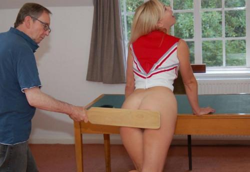 BDSM Spanked In Uniform