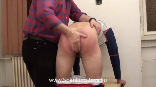 Gay BDSM Michal Hand Spank