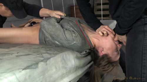 BDSM Chanel Preston tagteamed by dick