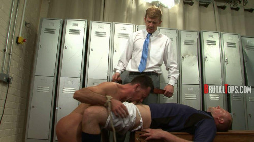 Gay BDSM Master Derek and Master Edward part4