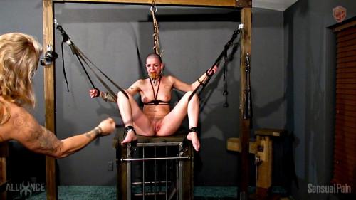 BDSM Harsh Discipline Pussy Whipping