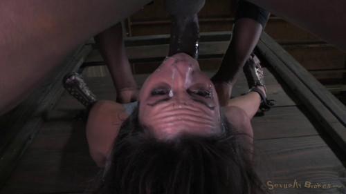 BDSM Tiny Amber Rayne takes hard sex action
