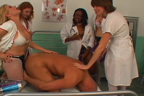 Femdom and Strapon Strap On Nurses