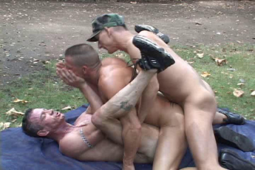 Gay BDSM Ambush On The Rocks