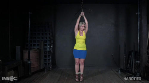 BDSM Lisey is bound & transitioned for forty minutes straight