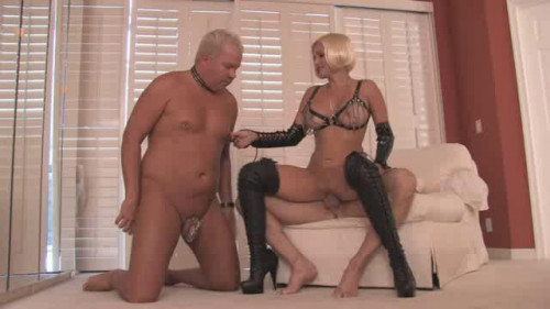 Femdom and Strapon Porn Most Popular Subby Hubby Collection part 32