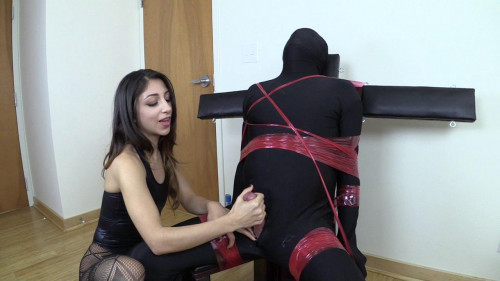 Femdom and Strapon Serina made and Ruined 3 Times