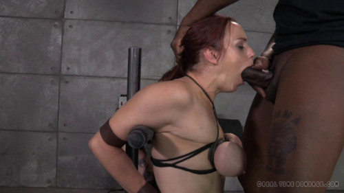 BDSM Busty Bella Rossi Takes On 2 Cocks