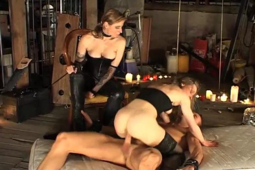 Femdom and Strapon Best of Domina Highlights