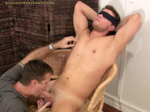Gay BDSM Stud Leon Agrees To A Hazing Vid and Gets A Hot Bj