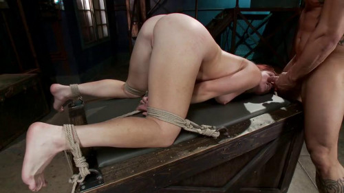bdsm Sophia Locke - Newbie Gets Brutally Fucked In Tight Bondage
