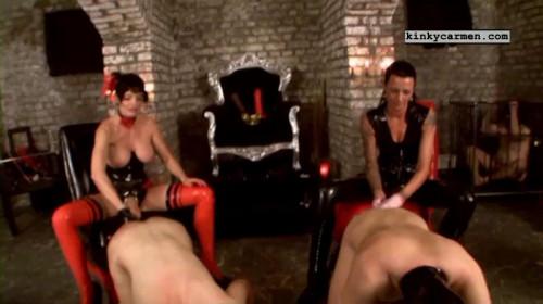 Femdom and Strapon dildo queens