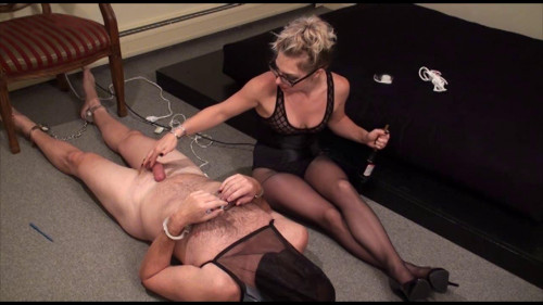 Femdom and Strapon Ladies Double - Domination HD