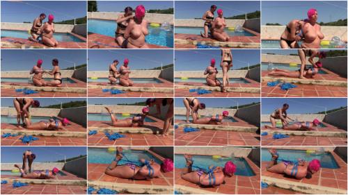 BDSM Nova Pink gets tied up by Rija Mae