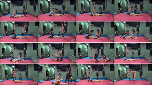 Femdom and Strapon MistressSusi - The Fitness Slave