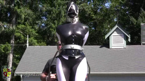 BDSM Latex Houseofgord - Mega Pony at the Gord Schloss