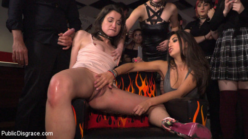 BDSM Penelope and Valentina in a Greedy Group Fuck
