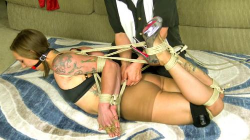 BDSM rogue business bound short