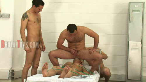 Gay BDSM Army Bullies and Evil Enema Facials