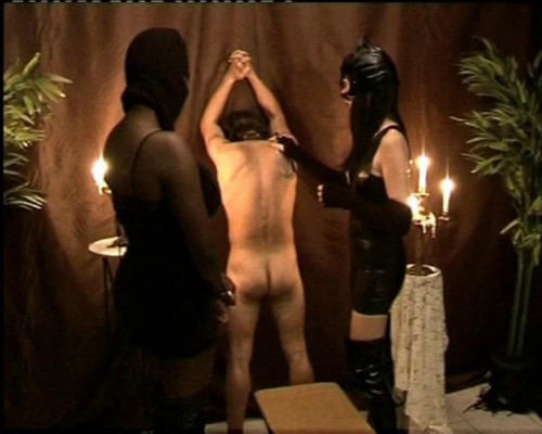 Femdom and Strapon Bad boy got punished