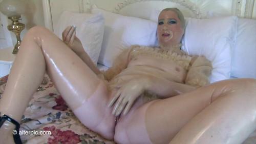 BDSM Latex Shuteye - Anna Rose