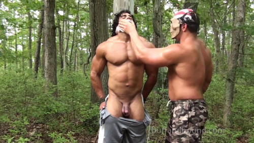 Gay BDSM Corleone - Back Woods Bondage