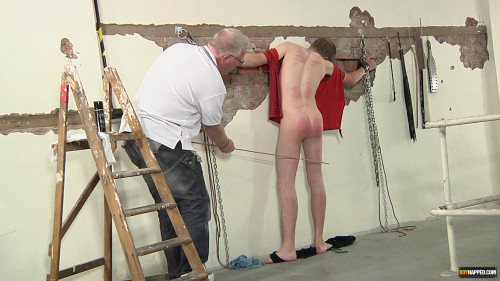 Gay BDSM Bad Boy Olly Needs A Caning
