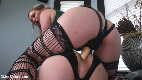 Femdom and Strapon Domestic Husband Training