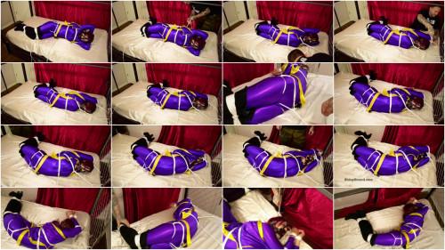 BDSM ShinyB - Sarah Brooke.. Batgirl Backarched