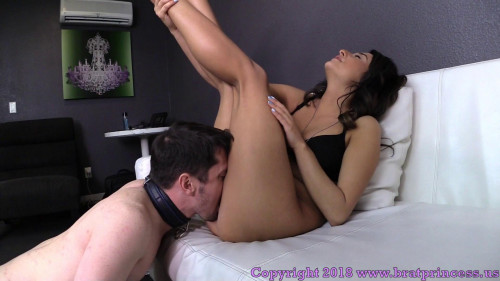Femdom and Strapon Isabella Nice Rides Step Bro. Face Until She Cums And He Doesnt (2018)