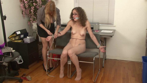 BDSM Tied and Vibrated and Abandoned Lauren Kiley