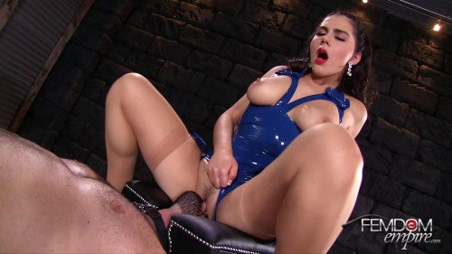 Femdom and Strapon Valentina Nappi - Her Obedient Tongue