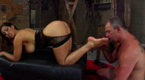 Femdom and Strapon FemDom Ass Worship Part  5
